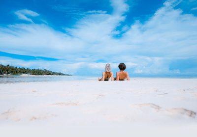 Sandstrand im Urlaub